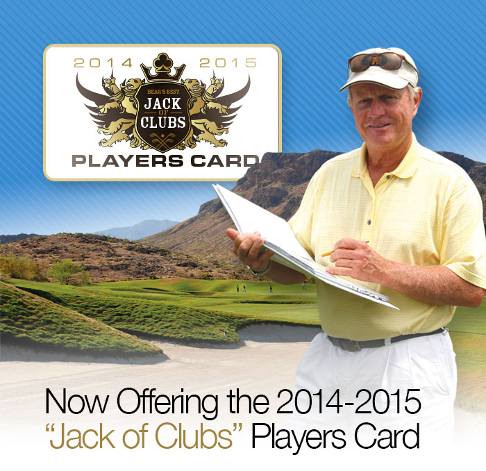 Now offering Bear's Best 2014-2015 Jack of Clubs Players Card